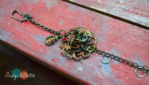 Giveaway bracelet for Rakhi